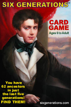 Six Generations Card Games/ Playing Cards